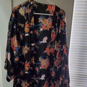 Floral kimono 🖤